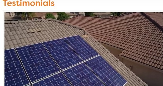 Solar panels on a house to signify Ambit Energy solar