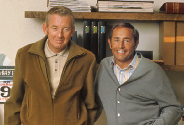 Amway founders Jay Van Andel and Rich DeVos