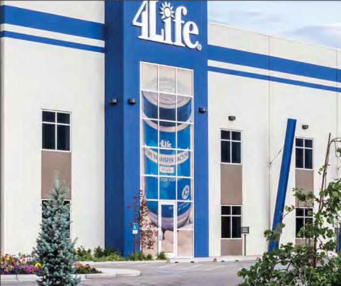 4Life company building