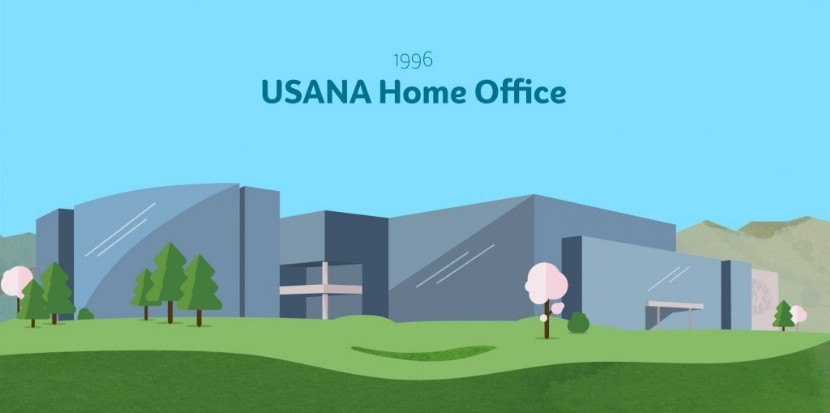 Artist impression of USANA Home Office