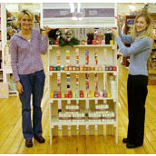 Kara Egan, and her sister-in-law, Colette Gunnel, co-founders of Scentsy