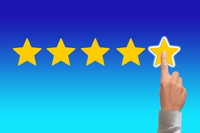 Finger fingering5th star in a review rating for 36 Company and product review posts you should be reading on this blog
