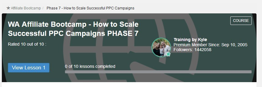 image Affiliate bootcamp Phase 7 How to scale successful PPC campaigns meaning Can You Make Money with Wealthy Affiliate Without a Premium Membership?