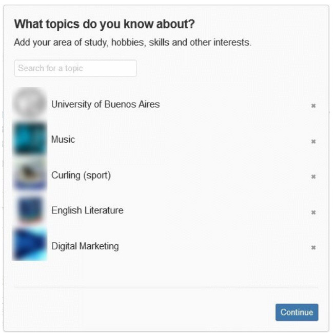 Quora what topics do you know about