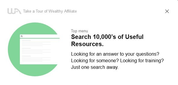 Get answers to someone you're looking for, questions and training is the 10th of the 16-Step Tour of Wealthy Affiliate to Learn About the System.