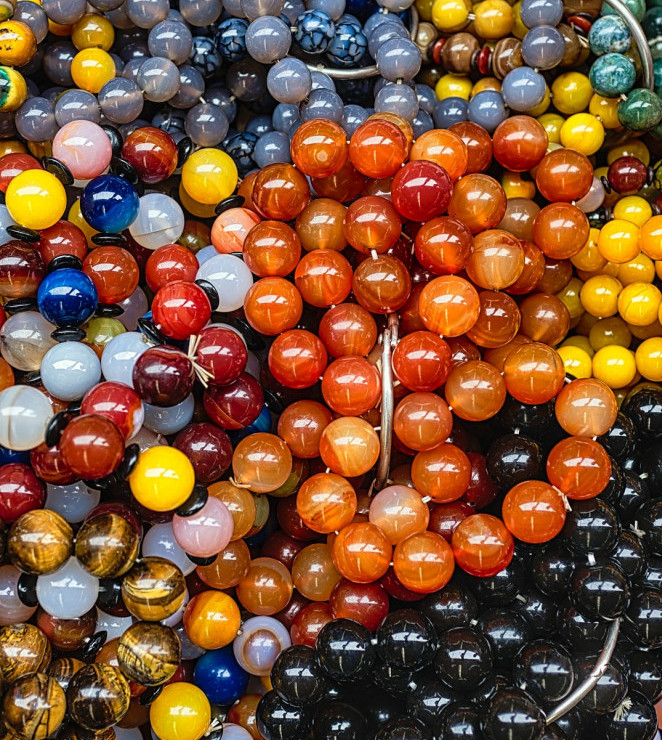 Many colored balls for multiple sources of income