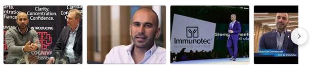 Imminotech founder Mauricio Domenzain