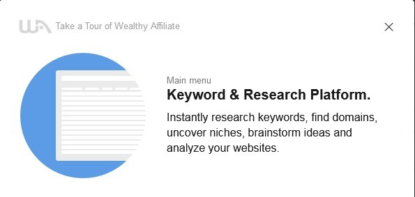 Access the keyword and research platform to instantly find keywords, domains, niches, ideas and analyze your website.