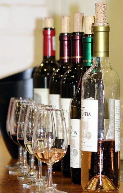 Range of wine