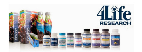 4Life products in bottles and tetrapaks