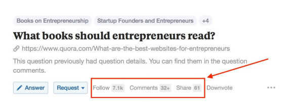 Popular question in Entrepreneurship with thousands of views and many upvotes