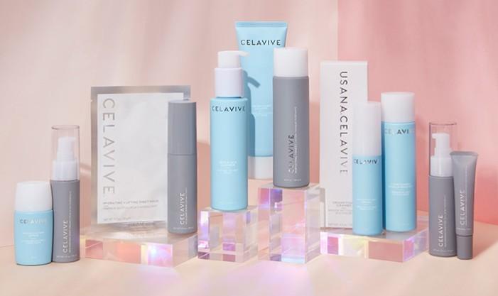 usana products range on display