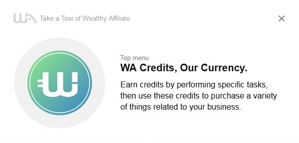 Perform certain task and earn credits. Use them to ask for these tasks concerning your business.
