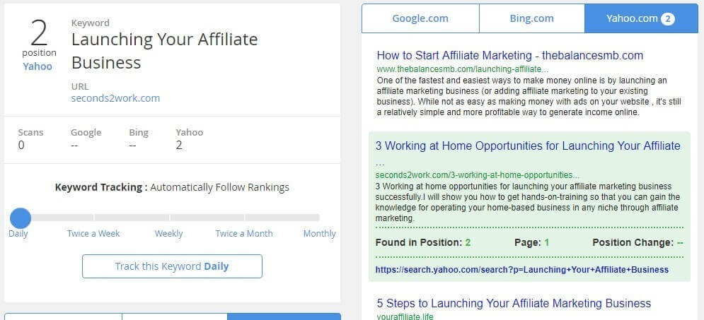 Launching your affiliate business