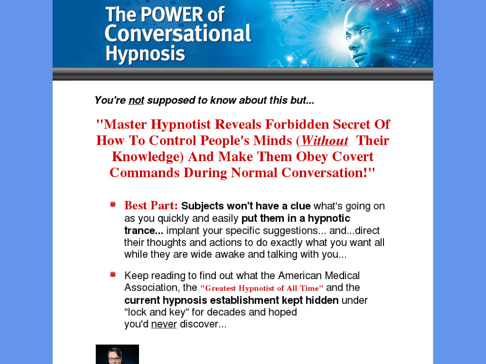 What Is The Power of Conversational Hypnosis About?