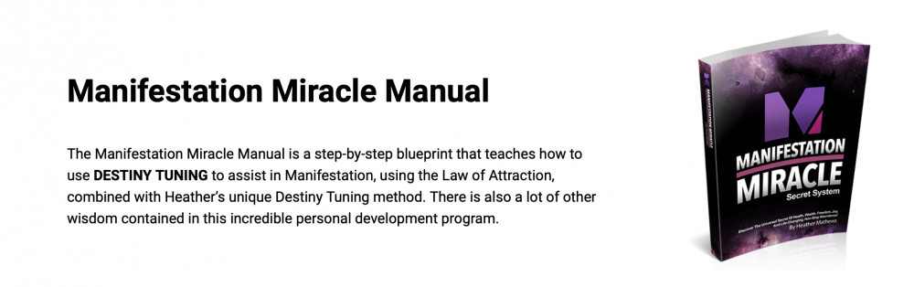What Is Manifestation Miracle About