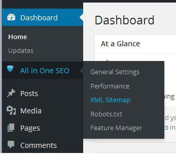 a solution for all in one seo sitemap empty and not working in