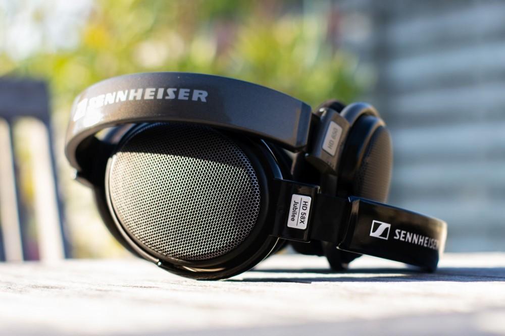 Sennheiser HD650 on top of HD58X