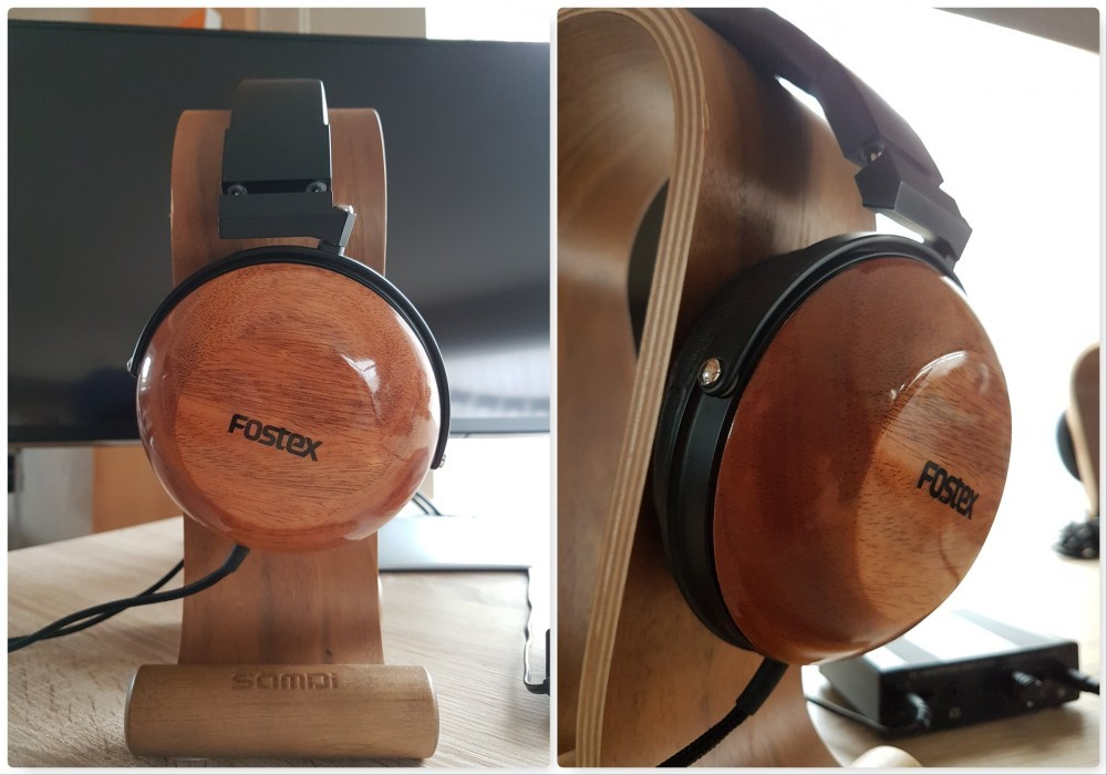Fostex TH-X00 on Samdi Headphone Stand