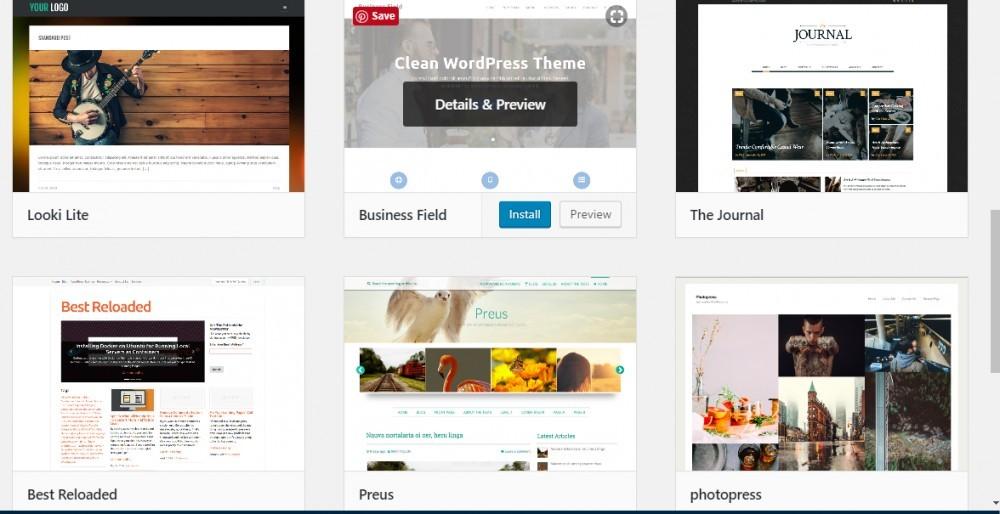 wordpress theme selection - how to build a wordpress website