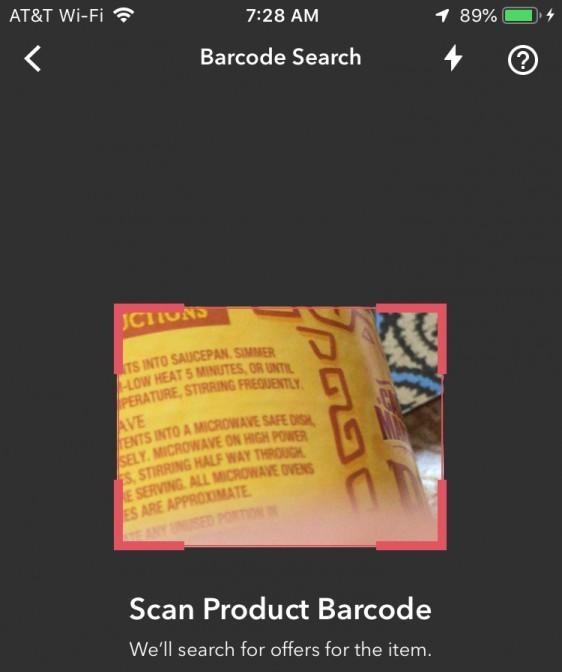 Ibotta scan