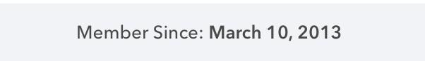 my Ibotta membership date