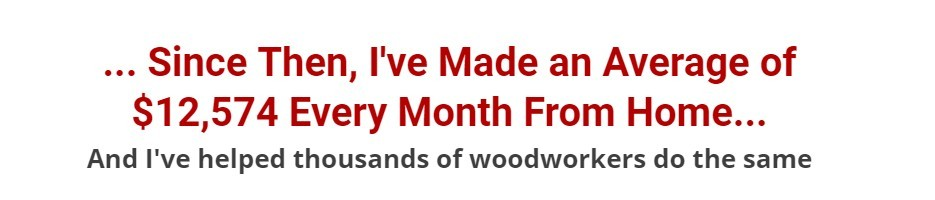 wood profits proof of income