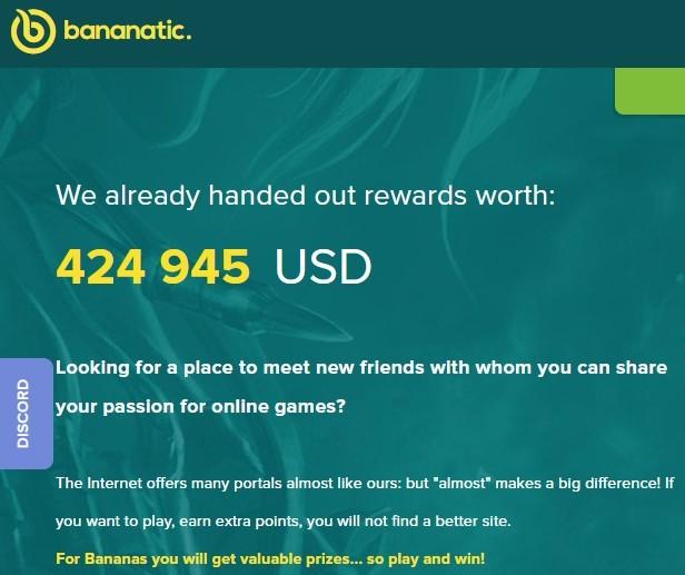 bananatic payments
