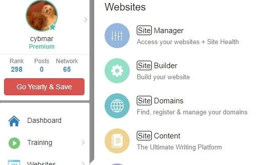 Websites Screenshot