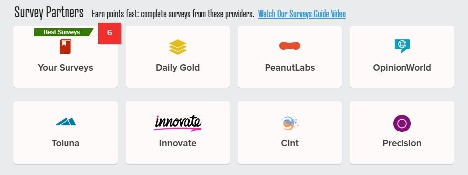 prizerebel survey partners