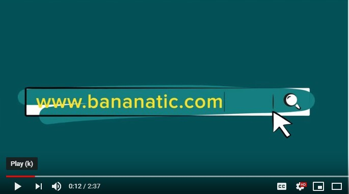Bnanatic walkthrough video