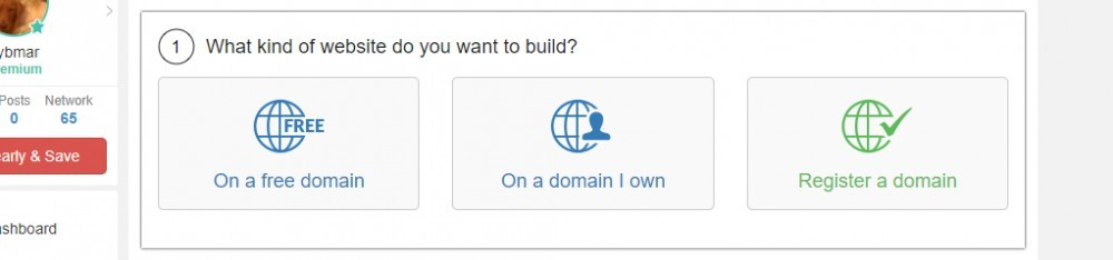 Site Builder Screenshot