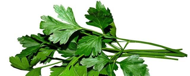 homemade detox tea parsley