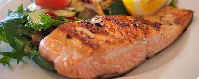 Super Healthy Food salmon