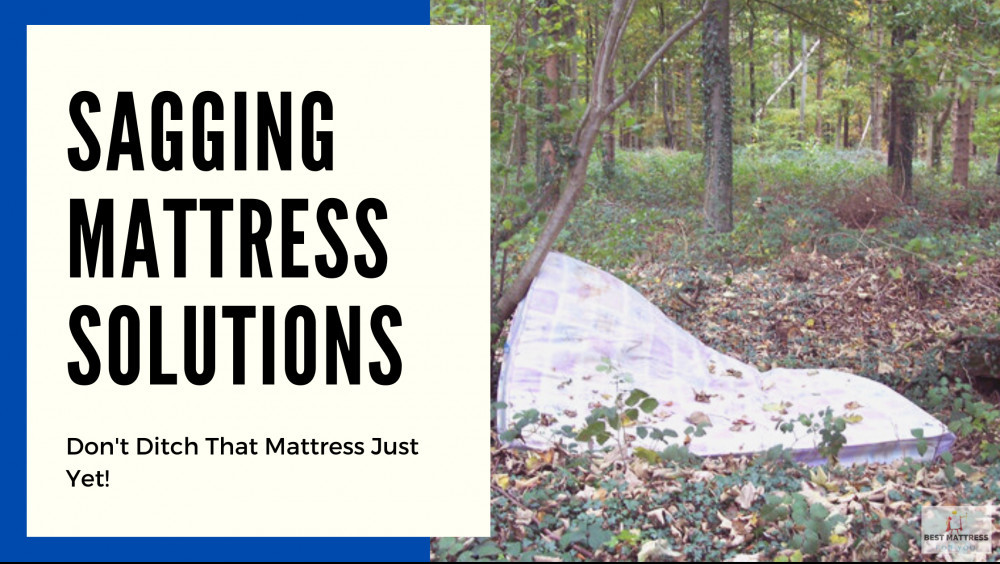 Sagging Mattress Solution - Cover Image