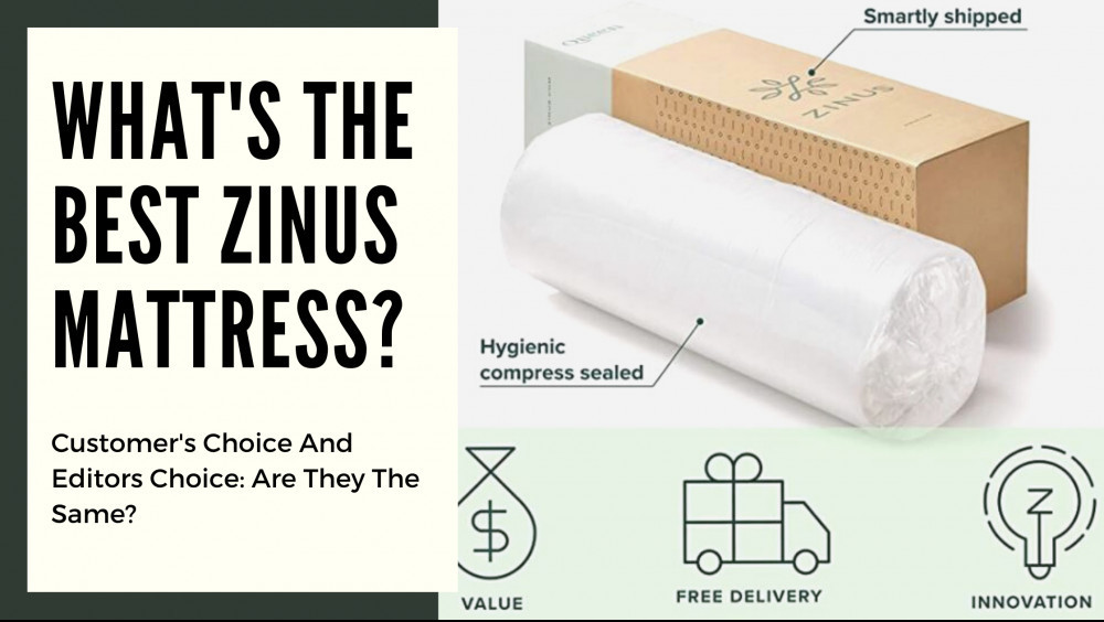 Best Zinus Mattress - Cover Image