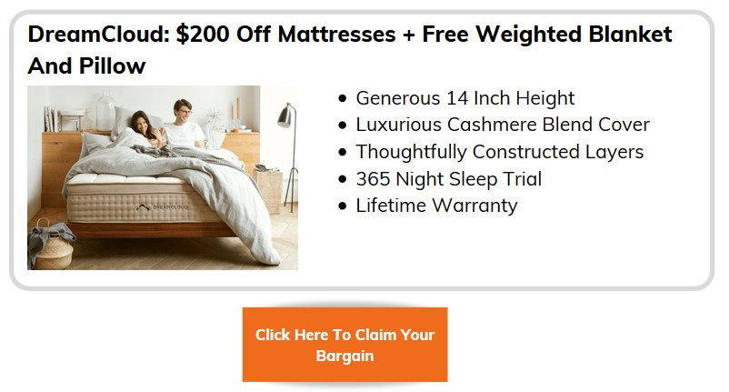 Memorial Weekend Mattress Deals - DreamCloud