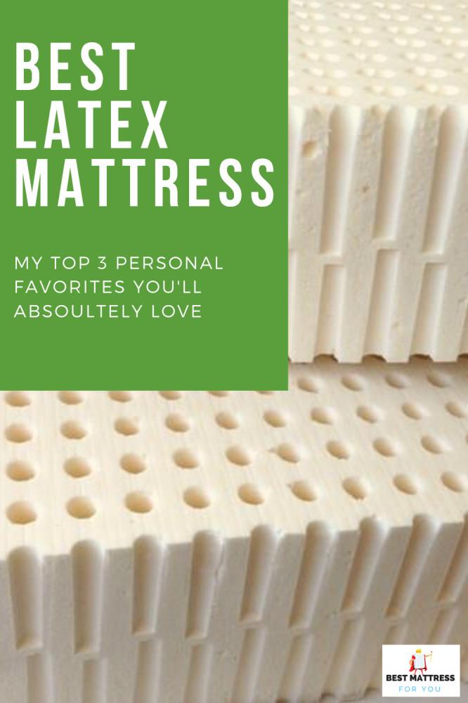 best latex mattress - cover image