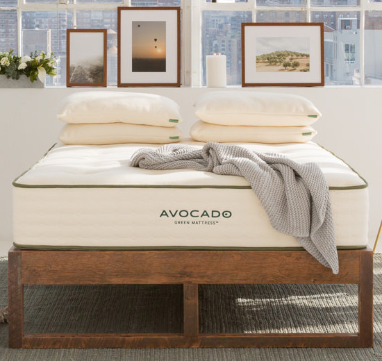 Avocado Reclaimed Wooden Bed Frame