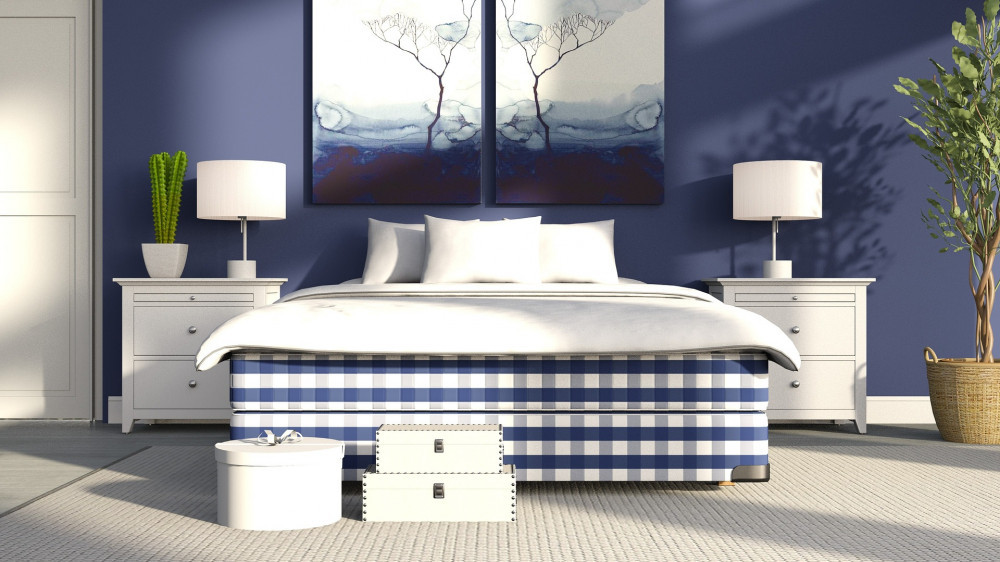 Best Colors For A Bedroom - Blue