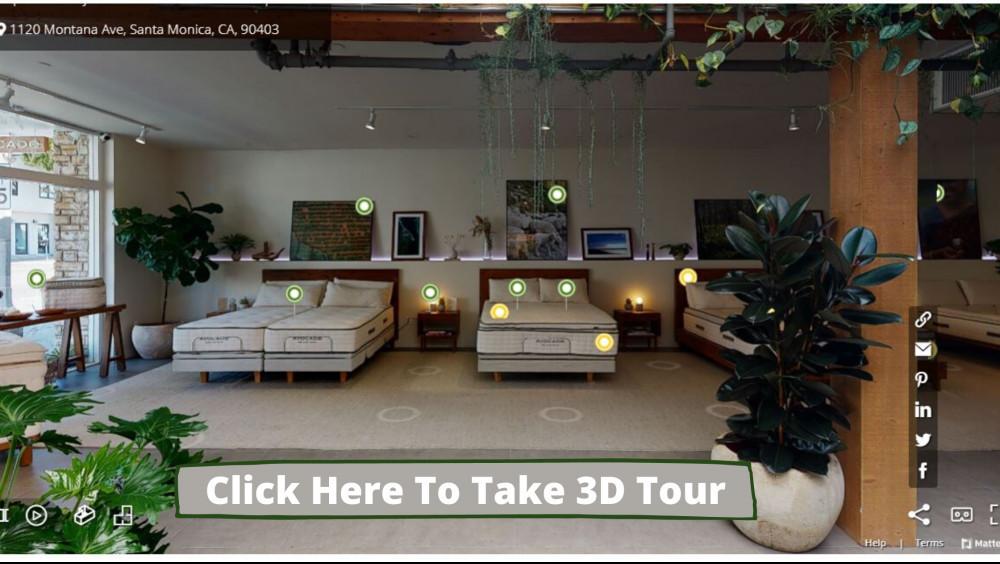 Avocado Mattress Showroom - Santa Monica 3D Tour