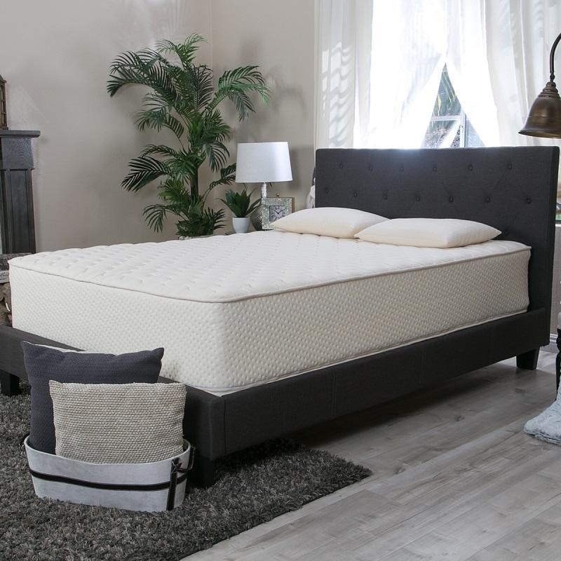 staged latex mattress