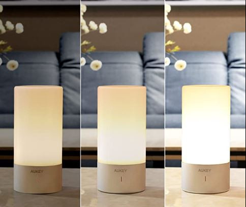 Touch Table Lamps For A Bedroom - Aukey Touch Lamp