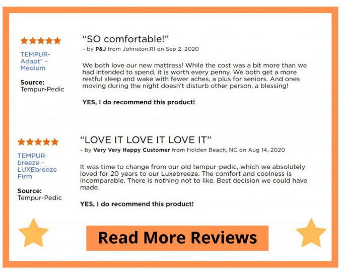 Tempur-Pedic Mattress Review - Real Opinions