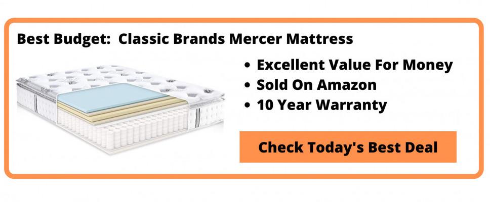 What's The Best Hybrid Memory Foam Mattress - Classic Brands Mercer