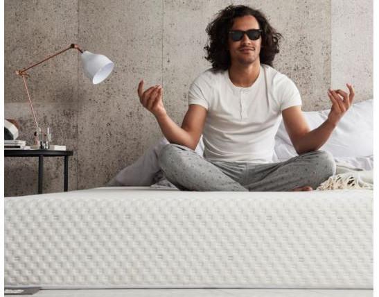 silentnight mattress uk - sitting on mattress