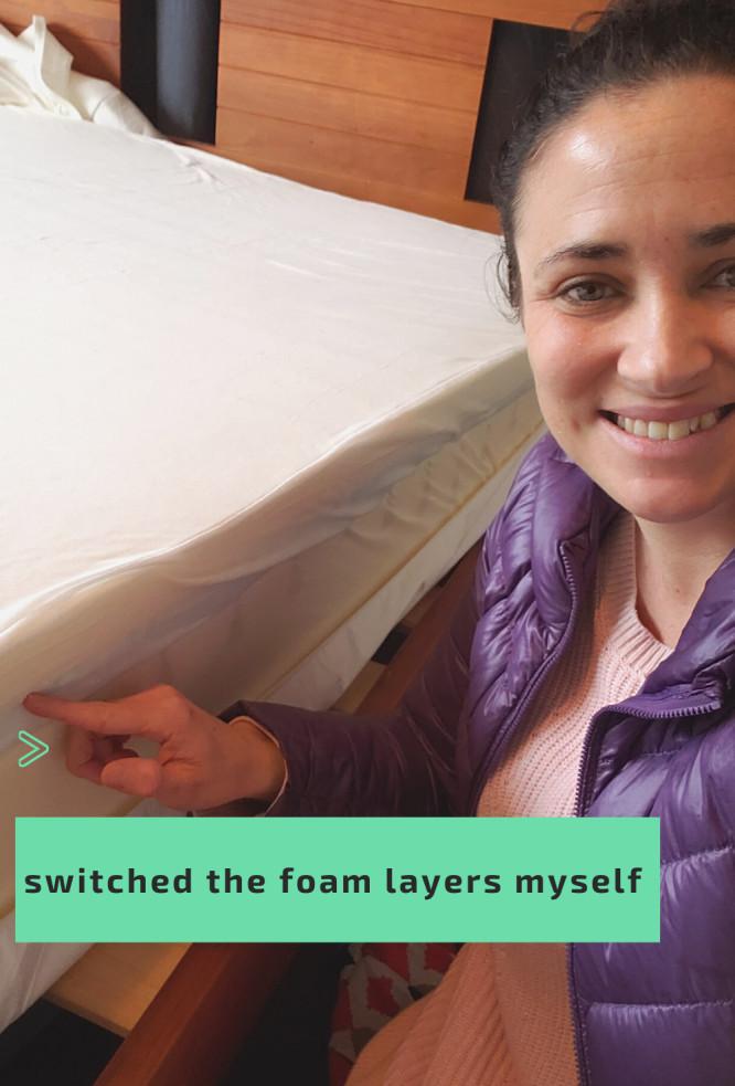 Ecosa Mattress Update - Switching Foam Layers