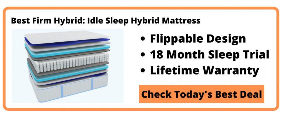 What's The Best Hybrid Memory Foam Mattress - Best Firm Button