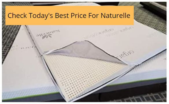 Naturelle Organic Latex Mattress Topper - See Price Button