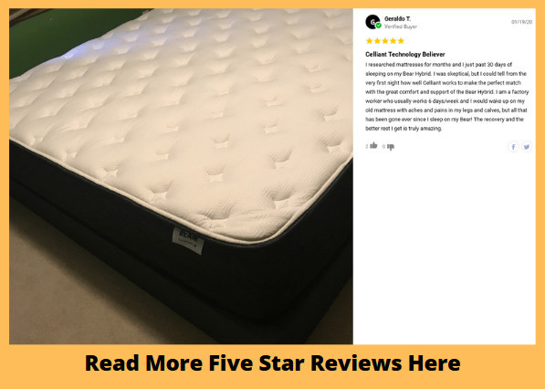 Bear Hybrid Mattress Review - Read More Reviews Here